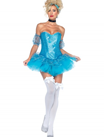Blue Sequin Princess Costume, halloween costume (Blue Sequin Princess Costume)