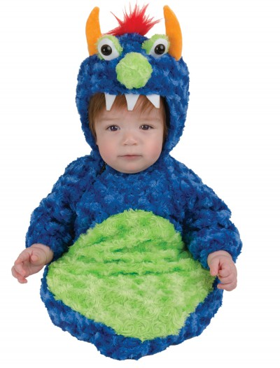 Blue Swirl Monster Bunting, halloween costume (Blue Swirl Monster Bunting)