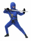Blue Toddler Ninja Costume, halloween costume (Blue Toddler Ninja Costume)
