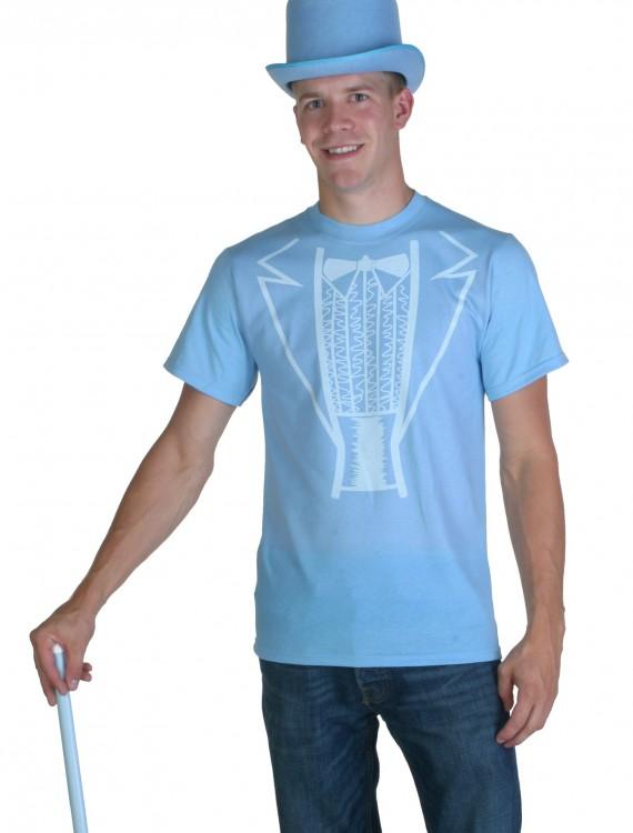 Blue Tuxedo Costume T-Shirt, halloween costume (Blue Tuxedo Costume T-Shirt)