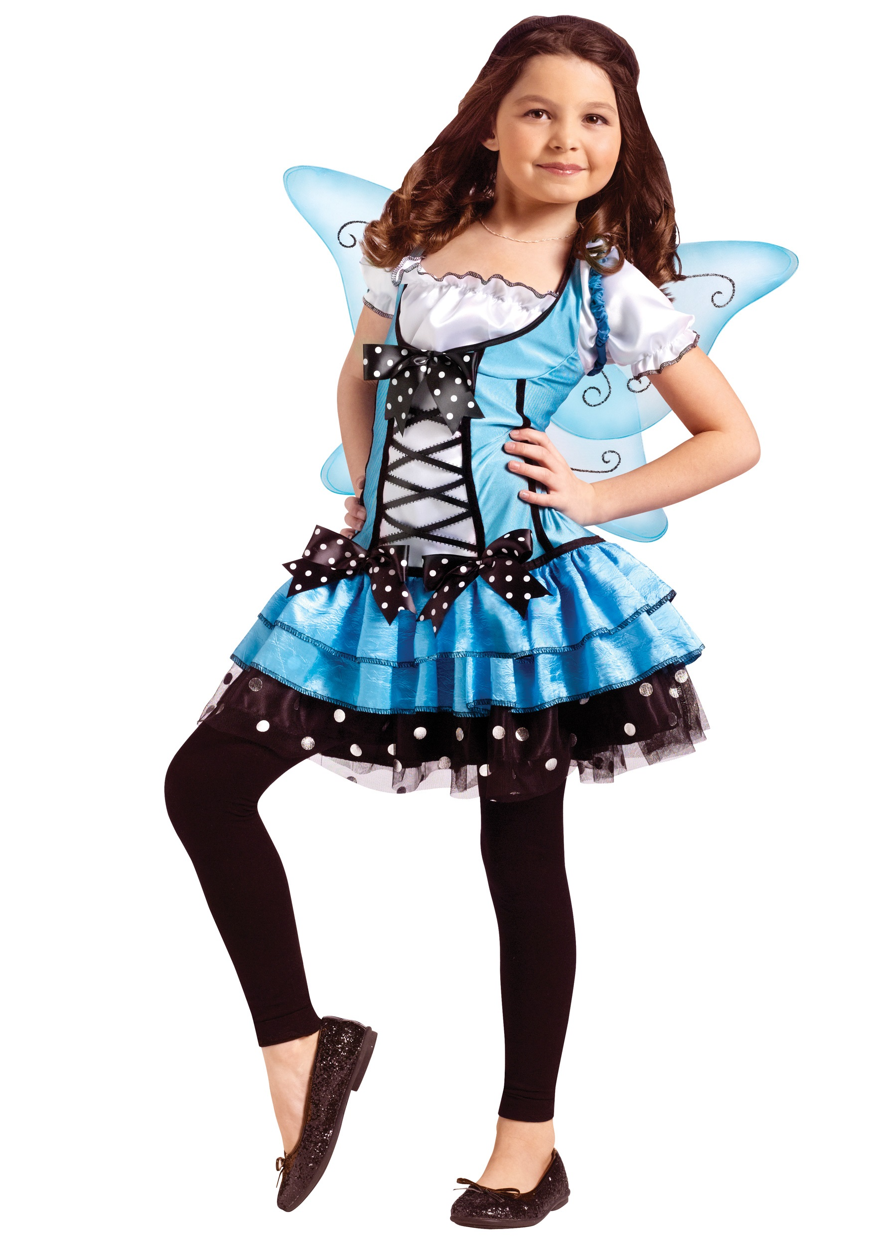 bluebelle fairy child costume