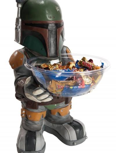 Boba Fett Candy Bowl Holder, halloween costume (Boba Fett Candy Bowl Holder)