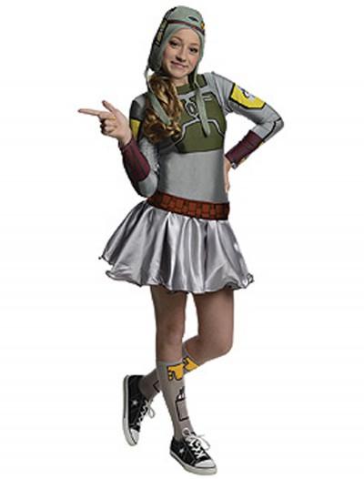 Boba Fett Tween Dress Costume, halloween costume (Boba Fett Tween Dress Costume)