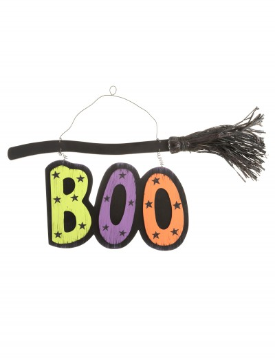 Boo Broom Sign, halloween costume (Boo Broom Sign)
