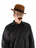 Bowler Brown Hat, halloween costume (Bowler Brown Hat)