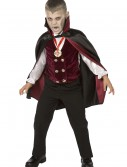 Boy Child Deluxe Vampire Costume, halloween costume (Boy Child Deluxe Vampire Costume)