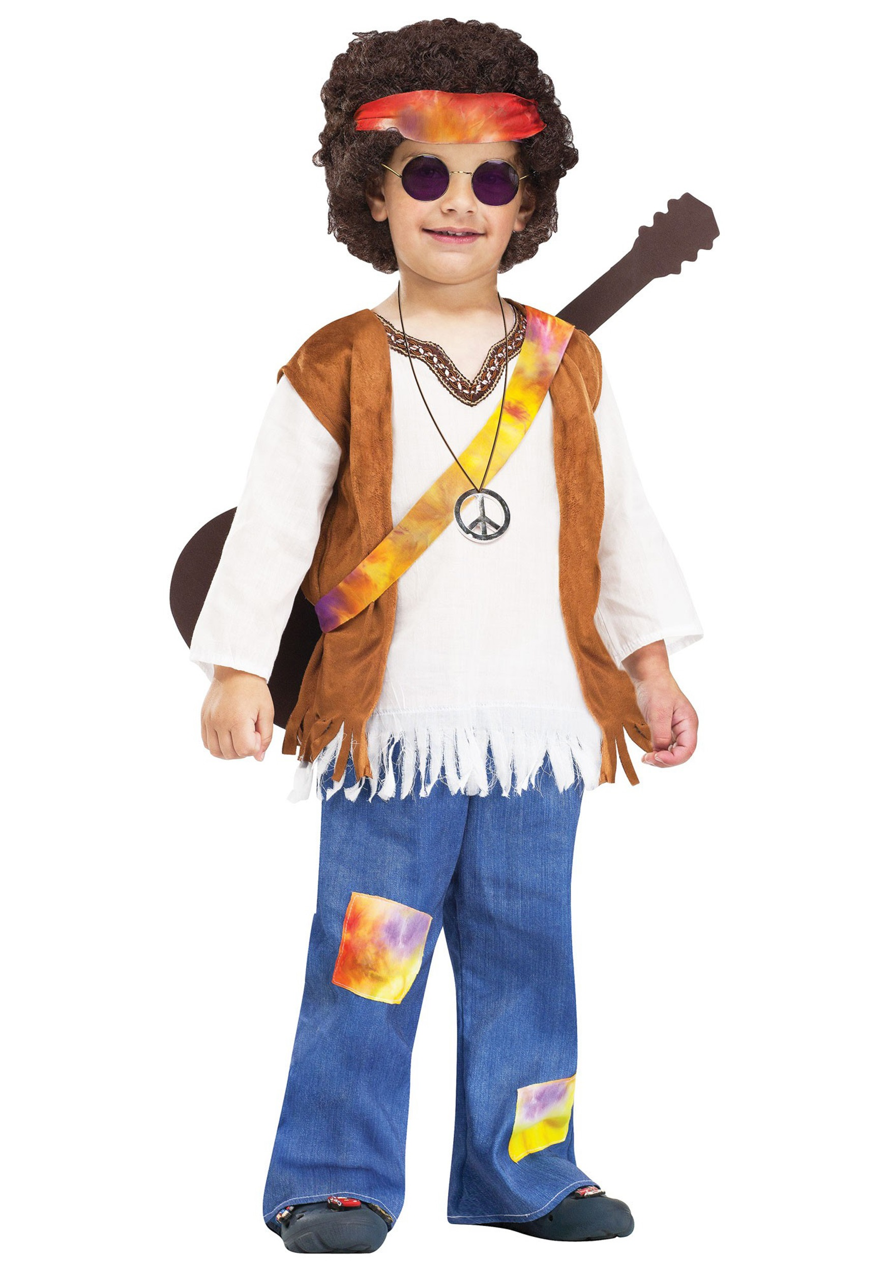 Boy Hippie Costume  sc 1 st  Halloween Costumes : hippie costume kid - Germanpascual.Com