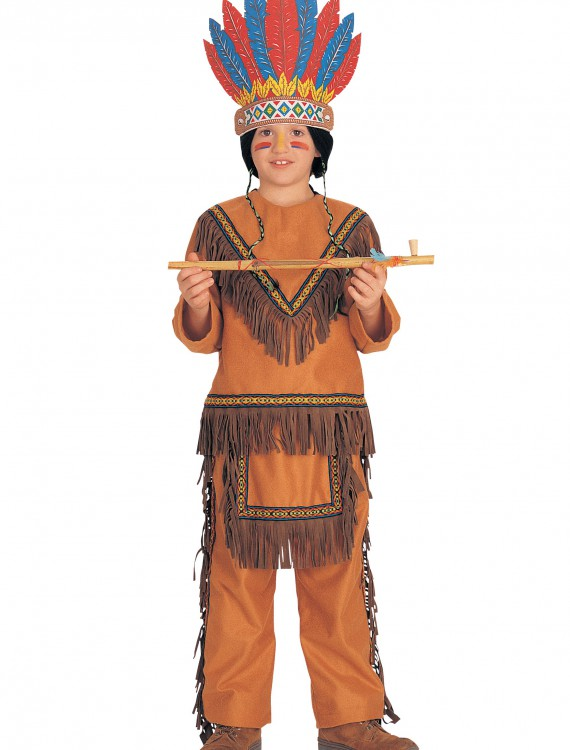 Boy Native American Costume, halloween costume (Boy Native American Costume)