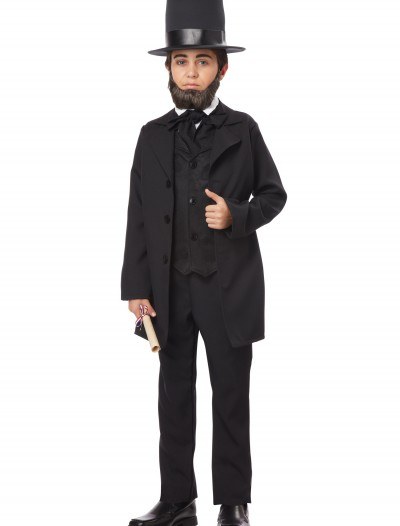 Boys Abraham Lincoln Costume, halloween costume (Boys Abraham Lincoln Costume)