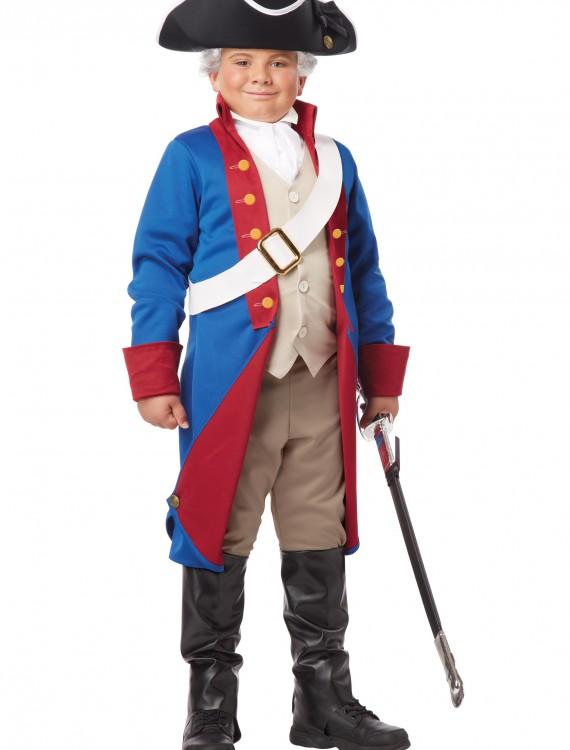 Boys American Patriot Costume, halloween costume (Boys American Patriot Costume)