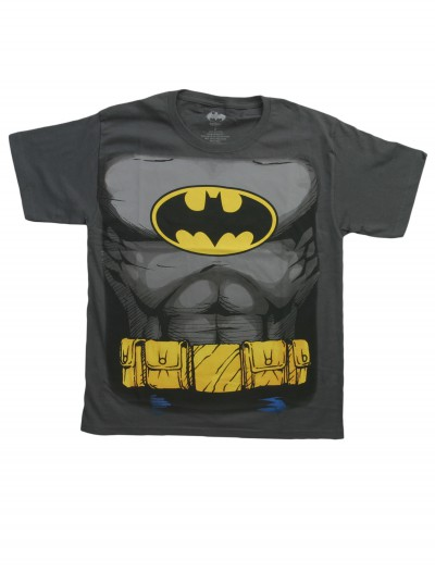 Boys Batman Costume T-Shirt, halloween costume (Boys Batman Costume T-Shirt)
