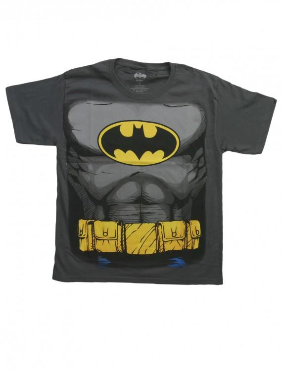 Boys Batman Costume T-Shirt, halloween costume (Boys Batman Costume T-Shirt)