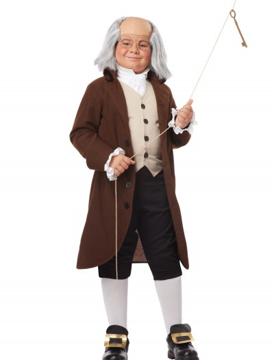 Boys Benjamin Franklin Costume, halloween costume (Boys Benjamin Franklin Costume)