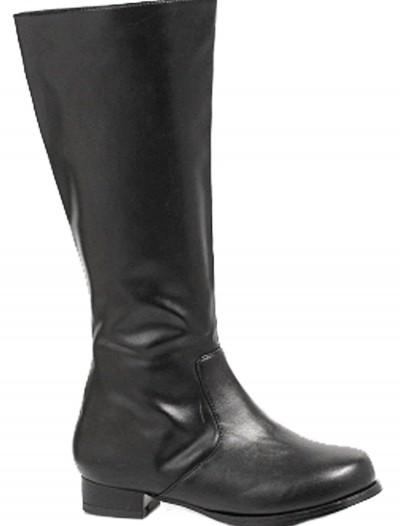 Boys Black Costume Boots, halloween costume (Boys Black Costume Boots)