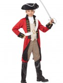 Boys British Redcoat Costume, halloween costume (Boys British Redcoat Costume)