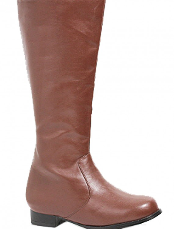 Boys Brown Costume Boots, halloween costume (Boys Brown Costume Boots)