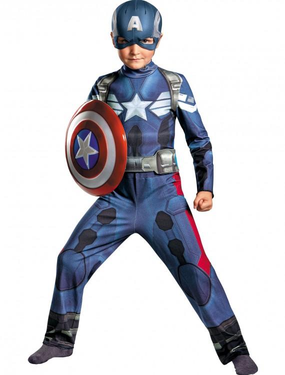 Boys Captain America 2 Classic Movie Costume, halloween costume (Boys Captain America 2 Classic Movie Costume)