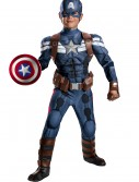 Boys Stealth Captain America Movie 2 Prestige Costume, halloween costume (Boys Stealth Captain America Movie 2 Prestige Costume)