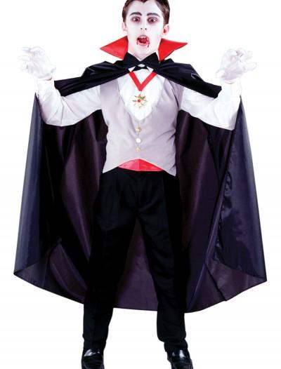 Boys Classic Vampire Costume, halloween costume (Boys Classic Vampire Costume)