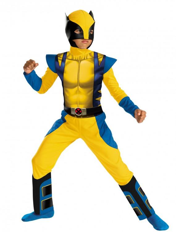 Boys Classic Wolverine Costume, halloween costume (Boys Classic Wolverine Costume)