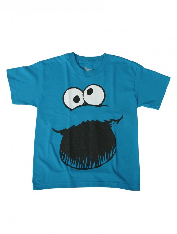 Boys Cookie Monster Costume T-Shirt, halloween costume (Boys Cookie Monster Costume T-Shirt)