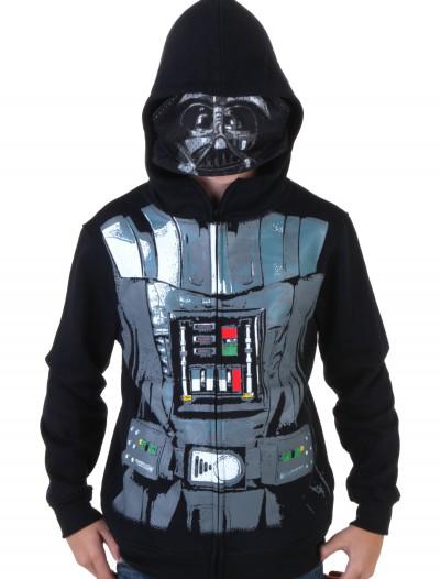 Boys Darth Vader Hoodie, halloween costume (Boys Darth Vader Hoodie)