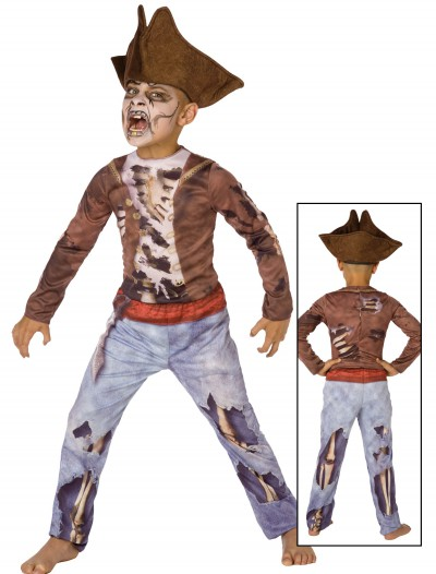 Boys Dead Pirate Costume, halloween costume (Boys Dead Pirate Costume)