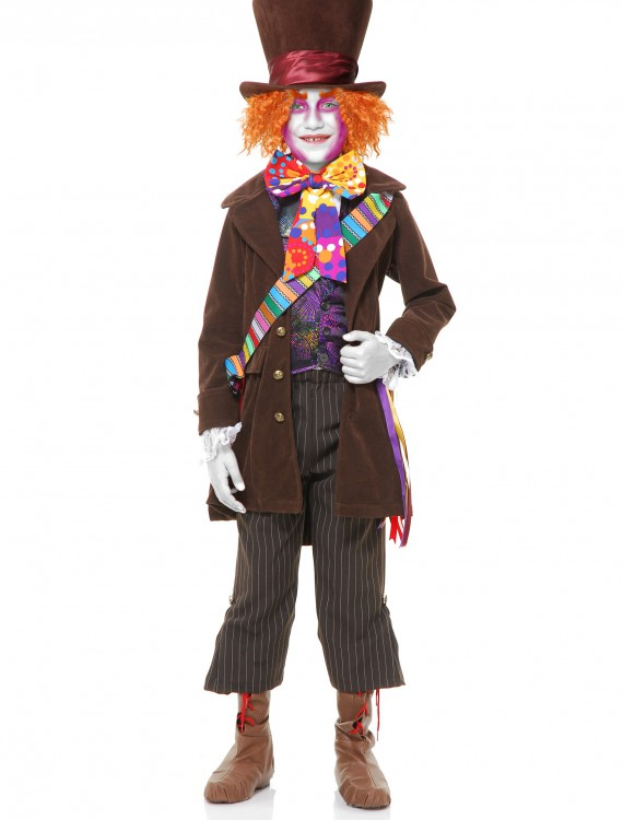 Boys Electric Mad Hatter Costume, halloween costume (Boys Electric Mad Hatter Costume)