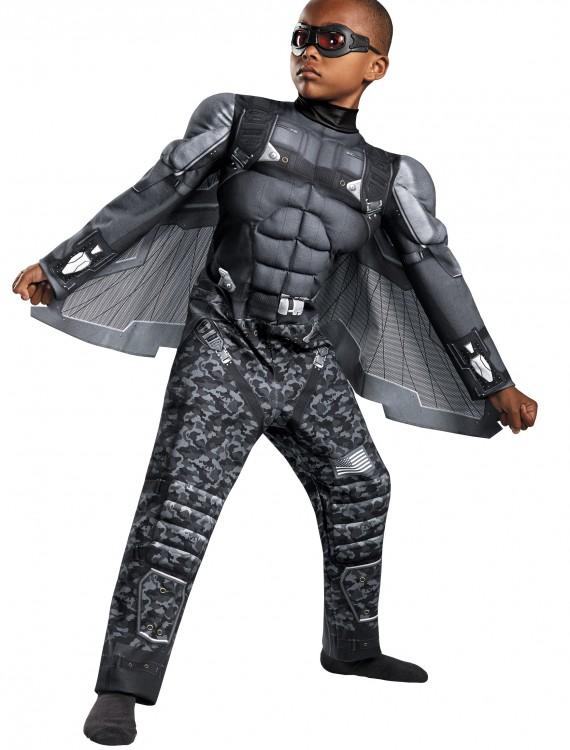 Boys Falcon Classic Muscle Costume, halloween costume (Boys Falcon Classic Muscle Costume)