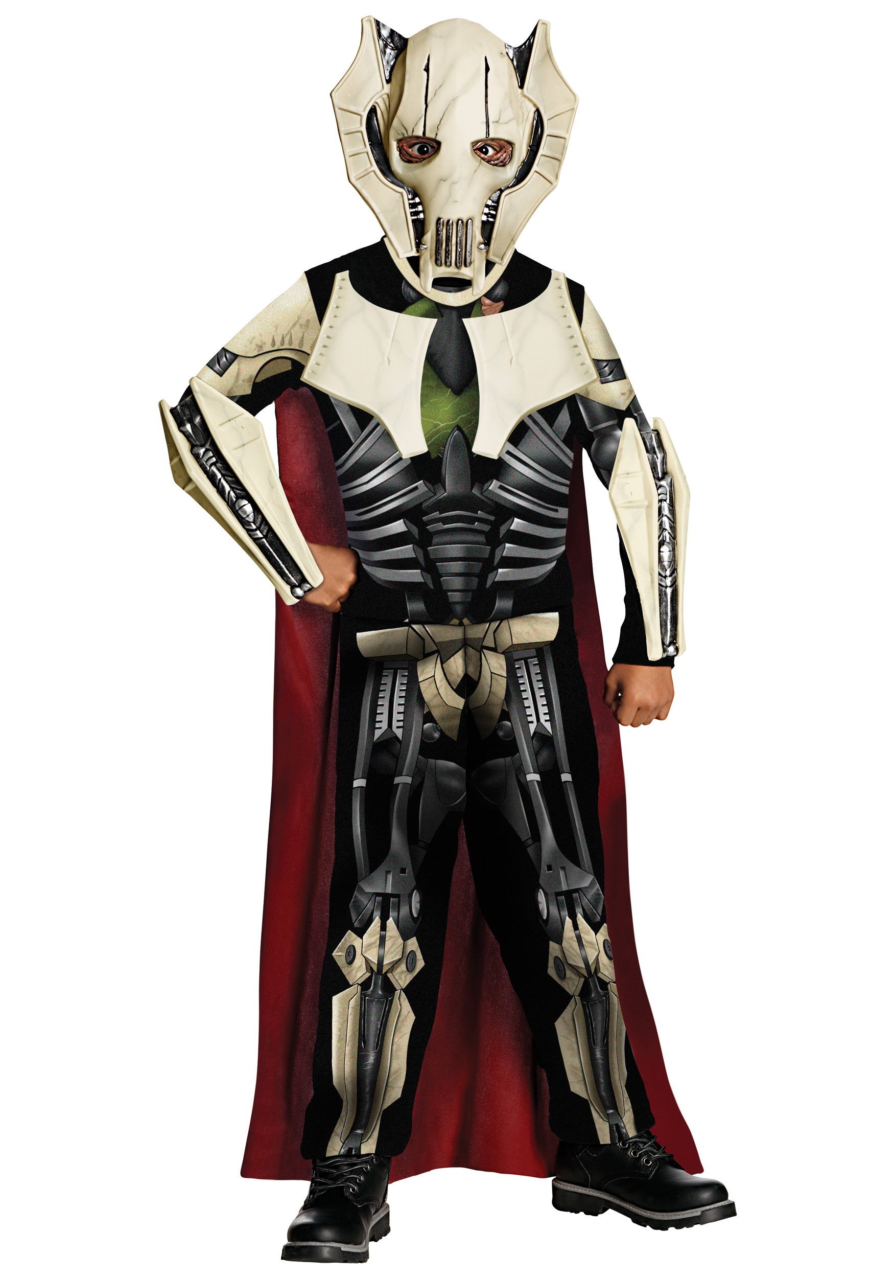 boys general grievous costume halloween costumes