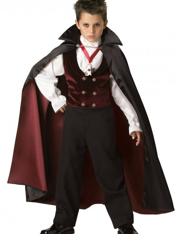 Boys Gothic Vampire Costume, halloween costume (Boys Gothic Vampire Costume)