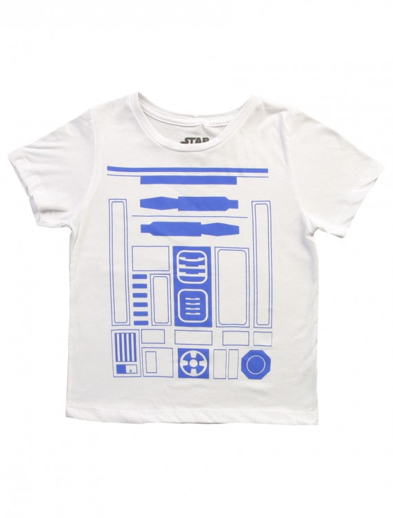 Boys I am R2D2 Costume T-Shirt, halloween costume (Boys I am R2D2 Costume T-Shirt)