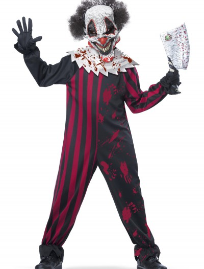 Boys Killer Clown Costume, halloween costume (Boys Killer Clown Costume)