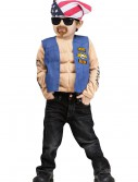 Boys Mini Biker Costume, halloween costume (Boys Mini Biker Costume)
