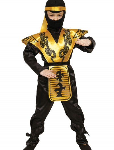 Boys Mortal Ninja Costume, halloween costume (Boys Mortal Ninja Costume)