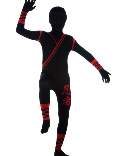 Boys Ninja 2nd Skin Suit, halloween costume (Boys Ninja 2nd Skin Suit)