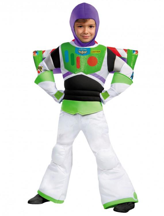 Boys Prestige Buzz Lightyear Costume, halloween costume (Boys Prestige Buzz Lightyear Costume)