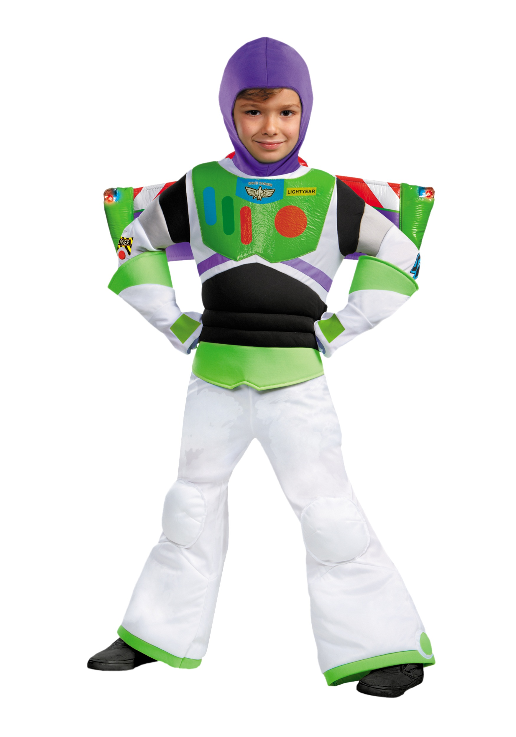 Boys Prestige Buzz Lightyear Costume - Halloween Costumes