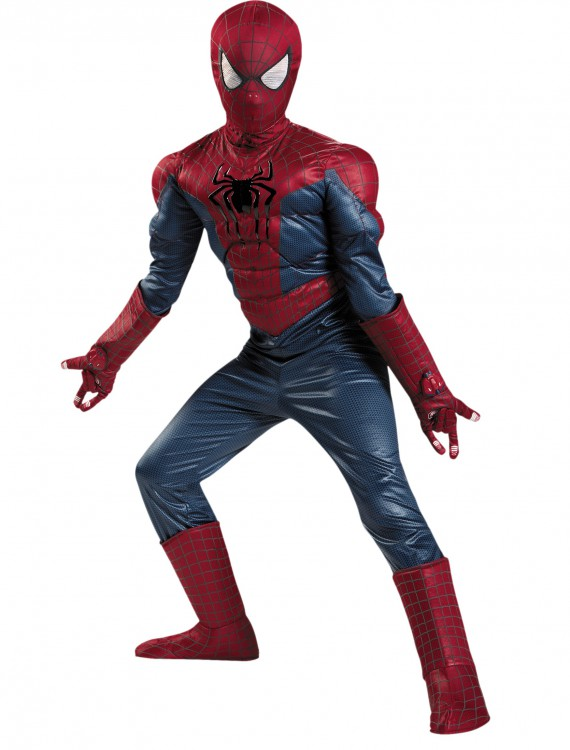Boys Prestige Spider-Man 2 Costume, halloween costume (Boys Prestige Spider-Man 2 Costume)
