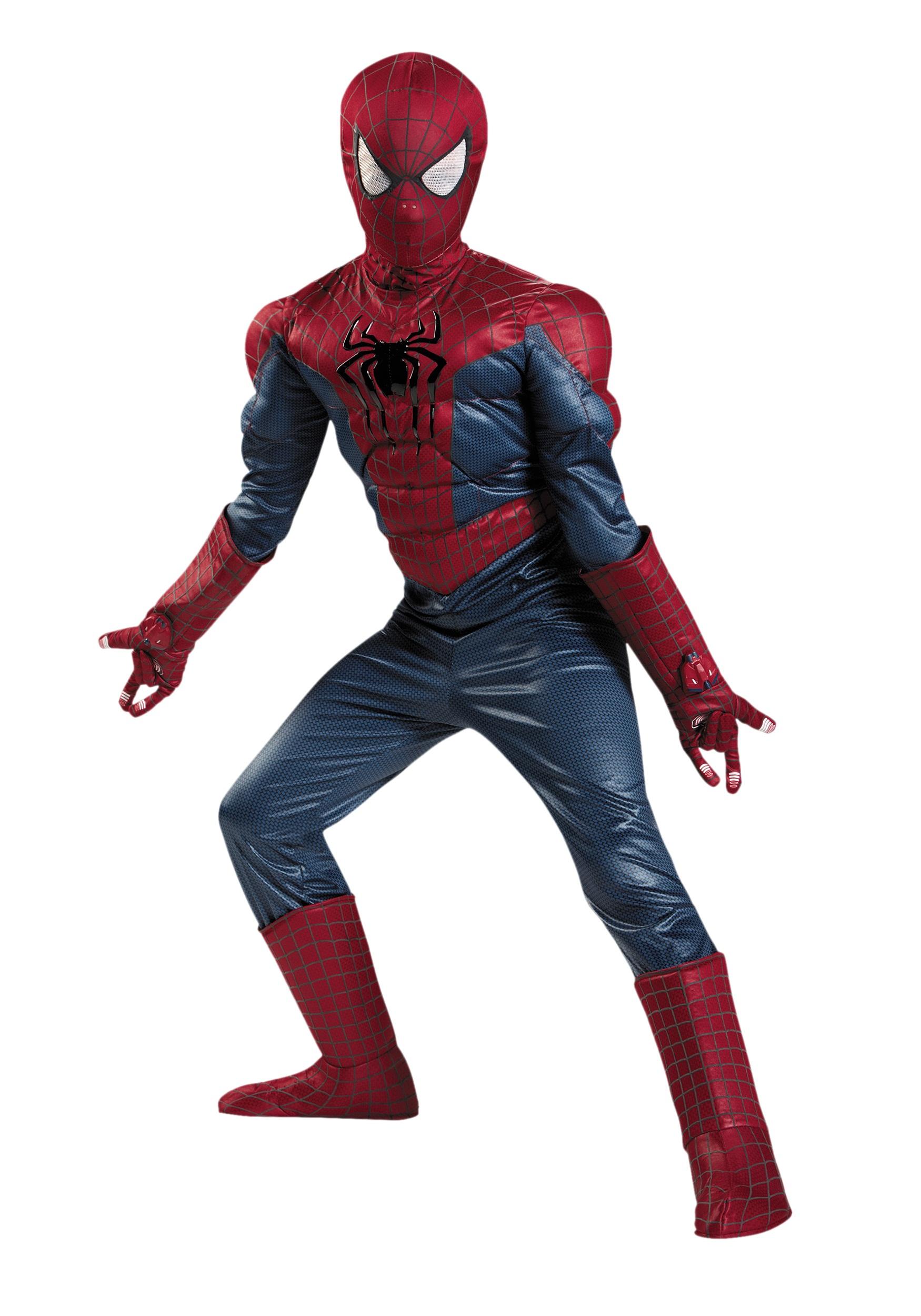 Boys Prestige Spider-Man 2 Costume - Halloween Costumes