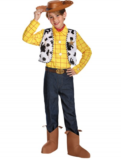 Boys Prestige Woody Costume, halloween costume (Boys Prestige Woody Costume)