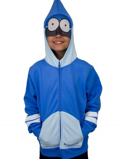 Boys Regular Show Mordecai Costume Hoodie, halloween costume (Boys Regular Show Mordecai Costume Hoodie)