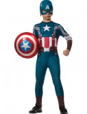 Boys Retro Captain America Costume, halloween costume (Boys Retro Captain America Costume)