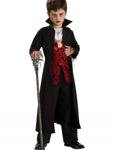 Boys Royal Vampire Costume, halloween costume (Boys Royal Vampire Costume)
