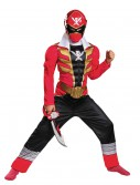 Boys Super Megaforce Red Ranger Muscle Costume, halloween costume (Boys Super Megaforce Red Ranger Muscle Costume)