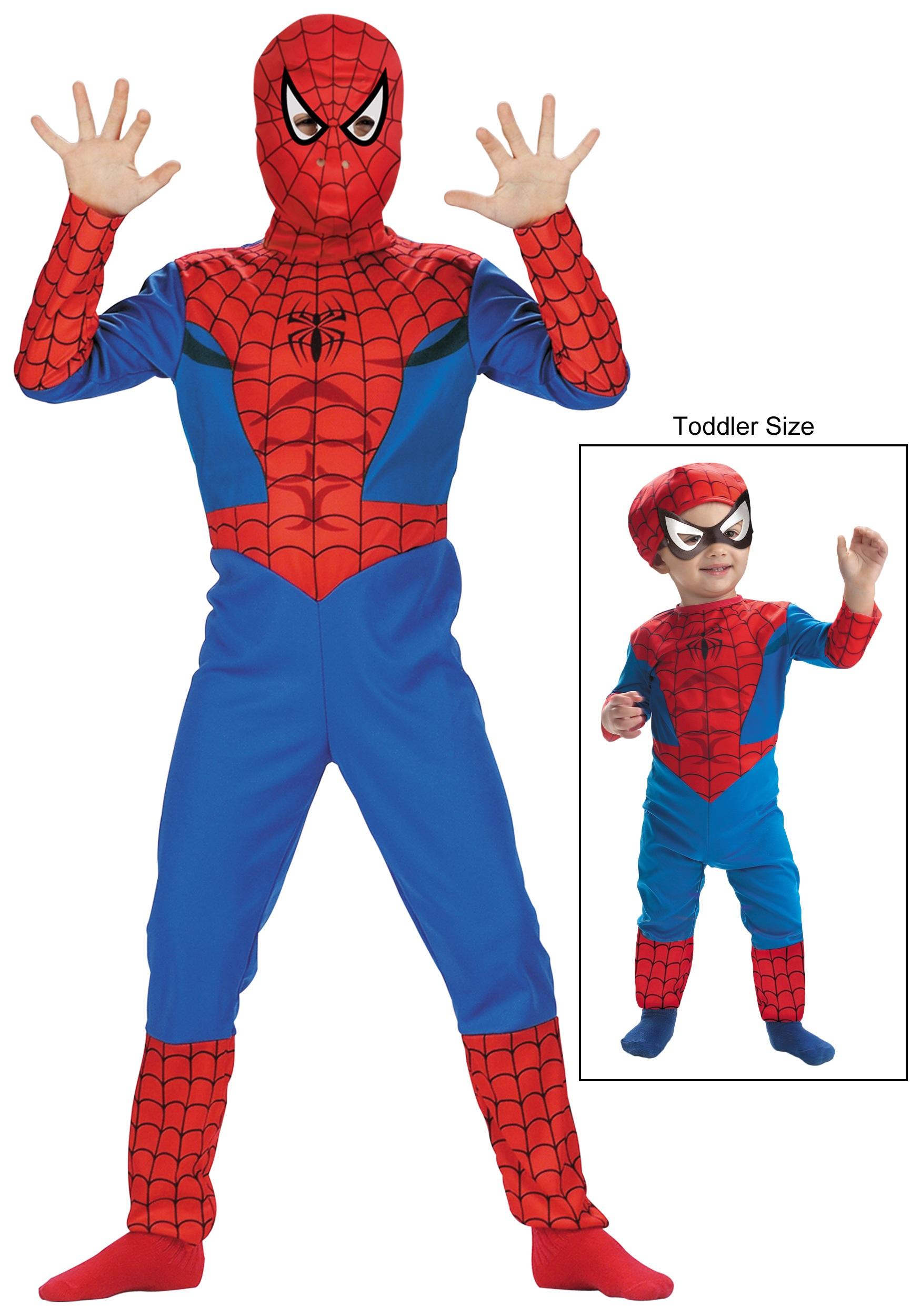 boys spider man costume