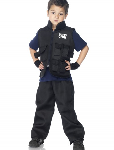 Boys SWAT Commander Costume, halloween costume (Boys SWAT Commander Costume)