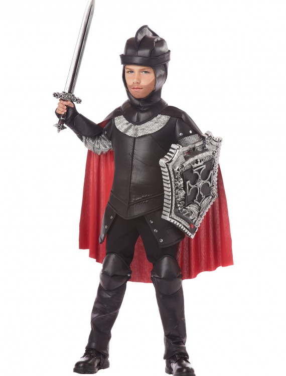 Boys The Black Knight Costume, halloween costume (Boys The Black Knight Costume)