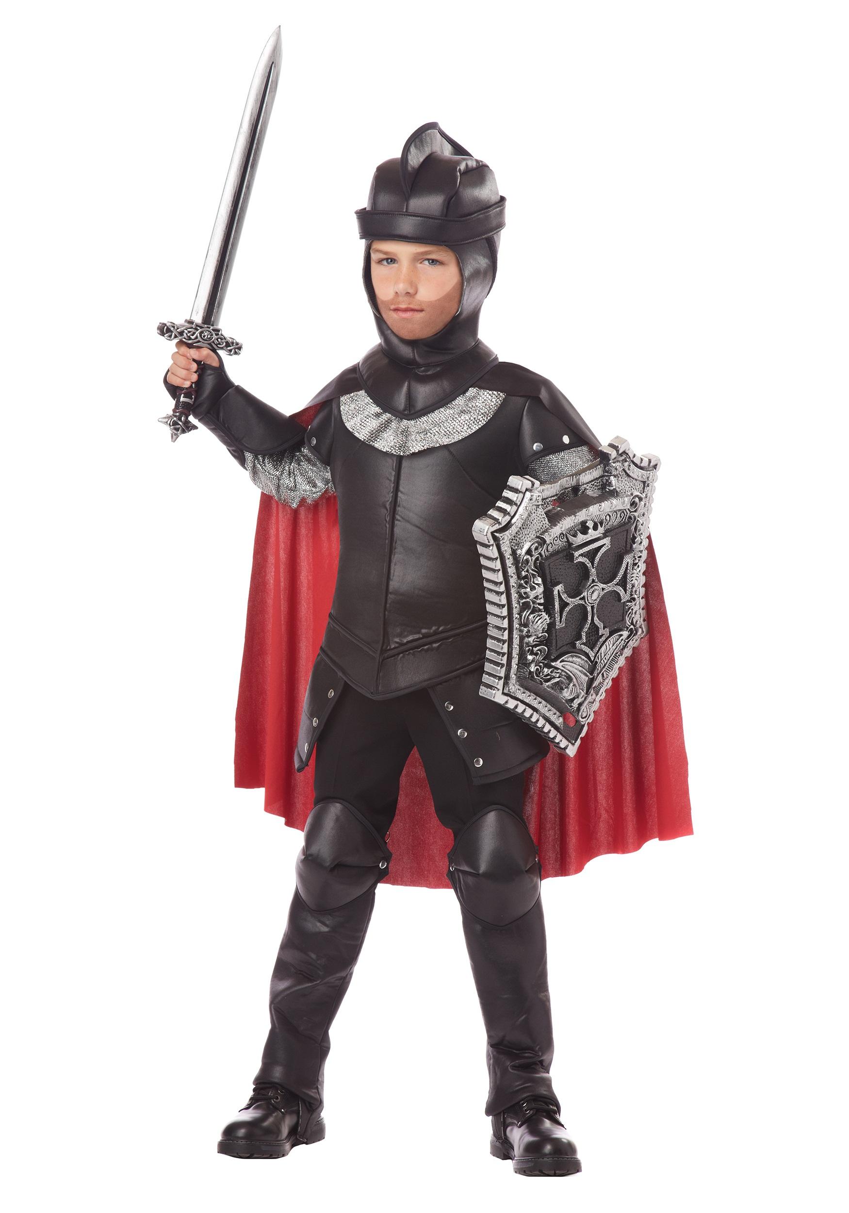 Boys The Black Knight Costume  sc 1 st  Halloween Costumes & Boys The Black Knight Costume - Halloween Costumes