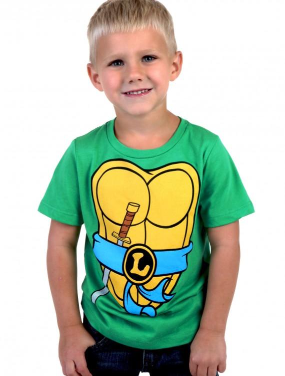 Boys TMNT Leonardo Costume T-Shirt, halloween costume (Boys TMNT Leonardo Costume T-Shirt)